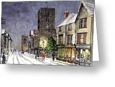 Edwardian Oxford Greeting Card