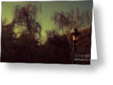 Eery Park Greeting Card