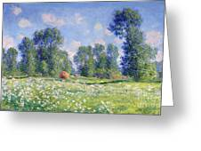 Effect Of Spring At Giverny Greeting Card