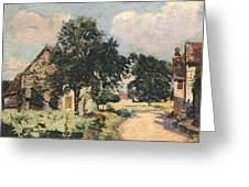 Effect Of The Sun Greeting Card by Jean Baptiste Armand Guillaumin