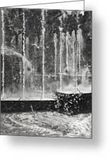Effervescence Fountain In Milano Italy Greeting Card