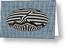 Egg Blimp In The Hanger Greeting Card
