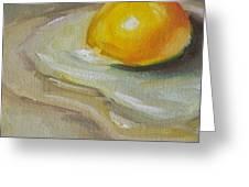 Egg Yolk No. 1 Greeting Card