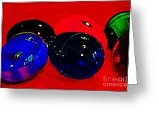 Eggs In Space? Greeting Card