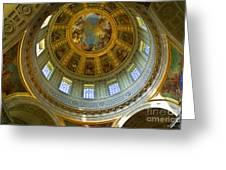 Eglise Du Dome Church Paris Greeting Card
