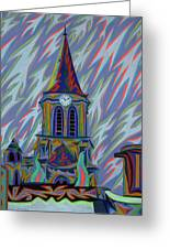 Eglise Onze - Onze Greeting Card