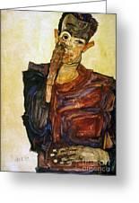 Egon Schiele (1890-1918) Greeting Card