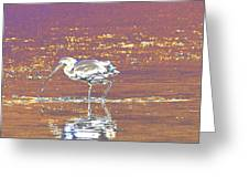 Egret II Greeting Card