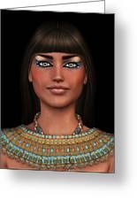 Egyian Princess Portrait Greeting Card
