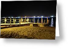 Egypt At Night Greeting Card
