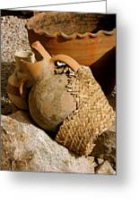 Egypt Bedouin Pots Greeting Card