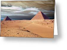Egypt Eyes Greeting Card