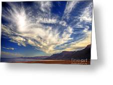 Egypt Sahara Desert Red Sea Night Sky Image Greeting Card
