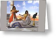 Egyptian Cleopatra Greeting Card