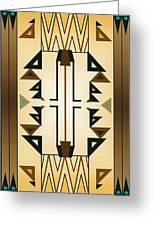 Egyptian Moderne Greeting Card