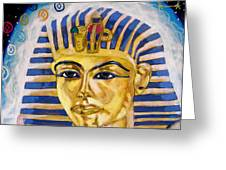 Egyptian Mysteries Greeting Card by Morten Bonnet