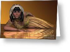 Egyptian Priestess Greeting Card