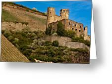 Ehrenfels Castle Ruin Greeting Card