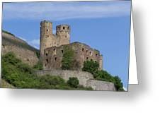 Ehrenfels Castle Squared 02 Greeting Card
