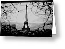 Eiffel Eyeful Greeting Card