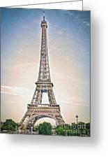Eiffel Tower 13 Art Greeting Card