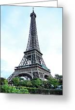 Eiffel Tower 9 Greeting Card