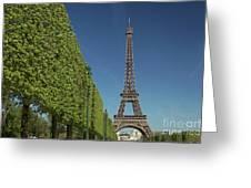 Eiffel Tower-9 Greeting Card
