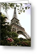 Eiffel Tower Greeting Card by Joe Bonita