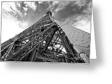Eiffel Tower Monster Greeting Card