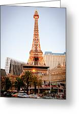 Eiffel Tower Nevada Greeting Card by Andy Smy