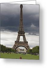 Eiffel Tower. Paris Greeting Card