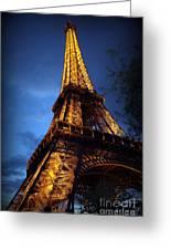 Eiffel's Magic Greeting Card