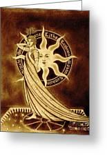 Eight Sabbaths Greeting Card