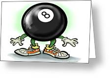 Eightball Greeting Card