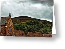 Eildon Hill Greeting Card