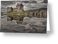 Eilean Donan Castle 3 Greeting Card by Wade Aiken