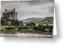 A Bonnie Wee Castle Greeting Card