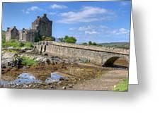 Eilean Donan Castle In Scotland Greeting Card