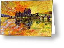 Eilean Donan Greeting Card