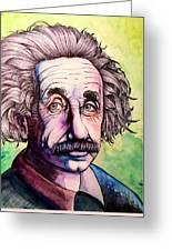 Einstein Greeting Card