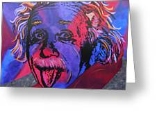 Einstein-professor Greeting Card
