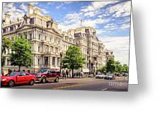 Eisenhower Executive Office Building Greeting Card