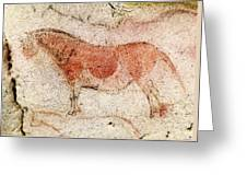 Ekain Cave Horse 2 Greeting Card