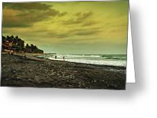 El Beach - El Salvador Greeting Card