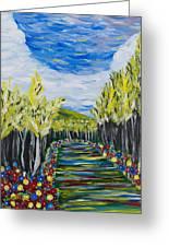 El Camino - Primavera - The Path - Spring Greeting Card