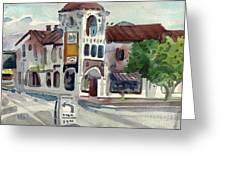 El Camino Real In San Carlos Greeting Card