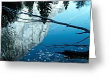El Cap Reflects Greeting Card