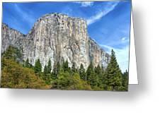 El Capitan In Yosemite National Park Greeting Card