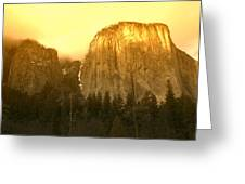 El Capitan Yosemite Valley Greeting Card
