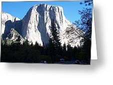 El Capitan Yosemite Greeting Card